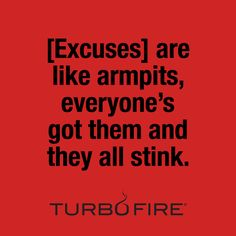 Be stronger than your strongest excuse! #motivation #fitspo #fitness