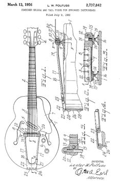 Hollowbody Electric Guitar Plans #4: Electronic Version | Guitar ...