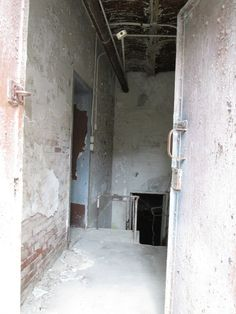 Inside the old jail