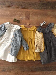 See more Little Girl Fashion, Little Girl Dresses, Fashion Kids, Toddler Fashion, Fashion Clothes, Dress Girl, Vintage Baby Dresses, Dress Fashion, Newborn Fashion