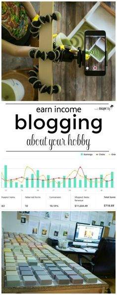 Earn Income Blogging About Your Hobby - Here are some of the most frequently asked questions I get about how I earn a full-time income blogging about my favorite hobbies.