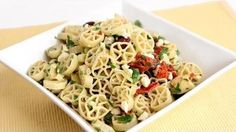 Mediterranean Pasta Salad Recipe - Laura in the Kitchen