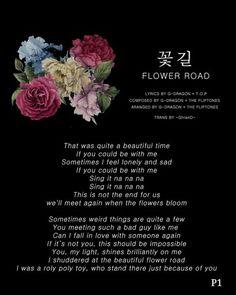 #20180313 #FlowerRoad #꽃길 #빅뱅_나온다_차트_비워라 [eng lyrics]
