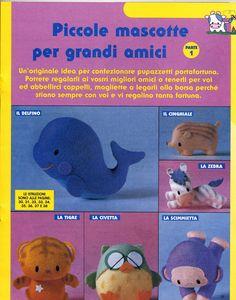 pannolenci animals, pattern:    http://lefotodimonica.altervista.org/gli_animaletti_in_pannolenci.htm