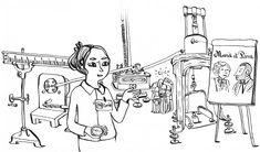 A la croisée de la BD, de l'animation, du roman historique et d'une leçon de science, « la méthode Curie »  tente de mettre en valeur les instruments scientifiques utilisés par les Curie et faire comprendre leurs recherches sur la radioactivité. Marie Et Pierre Curie, Animation, Science, Peace, Historical Romance, Reading, Comic, Animation Movies, Sobriety