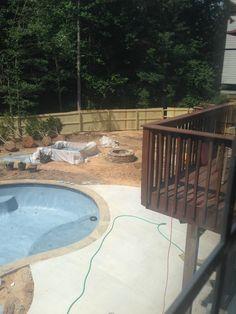 Pool Installation, Tub, Waterfall, Outdoor Decor, Home Decor, Bathtub, Decoration Home, Room Decor, Soaking Tubs