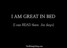 A writer's guilty pleasure - reading