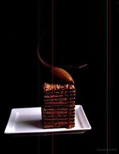 Twelve layer flourless chocolate Dobos Torte