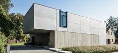 TU / Eengezinswoning & kantoor / Nieuwbouw / Modern / Beton
