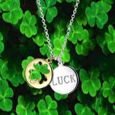 Luck on Your Side Necklace  #blingjewelry