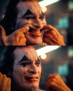 Joker, 🤡 One of the best movies I've ever watched. And Joaquin Phoenix. what an acting is that! Joker Images, Joker Pics, Joker Art, Silly Faces, Sad Faces, Jack Sparrow Tattoos, Joker Makeup, Spiderman Movie, Actor Studio