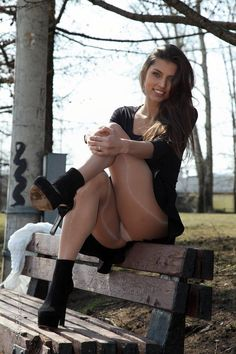 Sexy girl in pantyhose outdoors - More pictures here: http://sexypantyhose.nyloncelebs.com/outdoors-women-in-pantyhose-outdoors-09/
