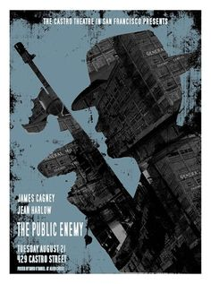 The Public Enemy Movie Poster by David O'Daniel