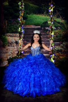 wholesale 2016 new sweet 15 dress royal blue beaded rhinestones satin organza quinceanera ball gown Xyz Bridal Charro Quinceanera Dresses, Pretty Quinceanera Dresses, Quince Dresses, Ball Dresses, Ball Gowns, Baby Blue Wedding Dresses, Royal Blue Dresses, Sweet 15 Dresses, Sweet Dress