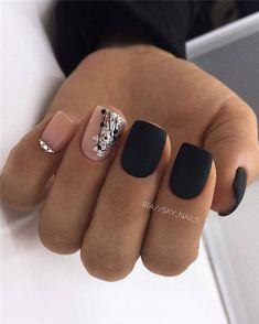 and Hottest Matte Nail Art Designs Ideas 2019 – Nails Summer – Fall – Spring – Winter Square Acrylic Nails, Square Nails, Acrylic Nail Designs, Nail Art Designs, Gorgeous Nails, Love Nails, Pretty Nails, My Nails, Spring Nail Art