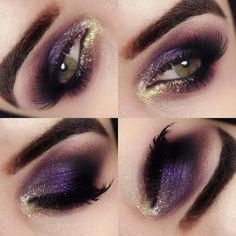 Maquiagem Roxa - Purple Makeup