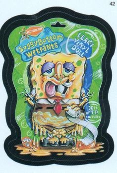 Wacky  Packages SoggyBottom Wetpants  #42  by Jimmy Tyler, via Flickr