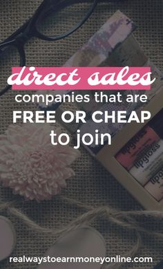 Want to get involved in direct sales, but you're lacking the funds to start up? Here's a list of direct sales companies that are free or cheap to join. Business Advice, Home Based Business, Business Opportunities, Direct Sales Companies List, Sales Now, Local Jobs Hiring, Advertising And Promotion, List Of Jobs, Time Management Tips