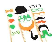 Photo Props ST PATRICK'S DAY Photo Booth by CreativeButterflyXOX, $24.95