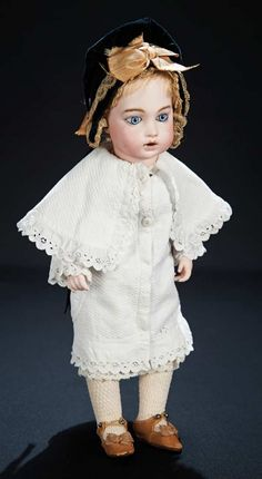 Let the Music Begin!: 181 Early Model of French Bisque Bebe Teteur,Size 2,Beautiful Eyes by Leon Casimir Bru