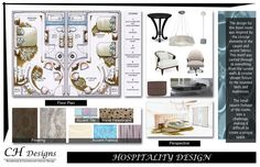 Ch designs interior design portfolio by carey howerton, Mood Board Interior, Interior Design Boards, Interior Desing, Commercial Interior Design, Presentation Board Design, Interior Design Presentation, Interior Design Portfolios, Interior Design Sketches, Portfolio Design