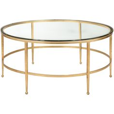 The strikingly simple geometric form of the Edmund Round Cocktail Table also has a practical side.