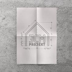 JCM Projekt / Projekt logo dla biura projektowo-budowlanego z Wągrowca.