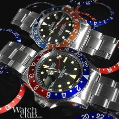 A of Rolex GMT's