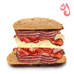 double pastrami, double bacon, cheese & mayo = free mac miller mixtape http://2pin.in/sammich