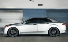 Acura TSX Tires: Falken Tire FK452 245/35-19 Wheels: Advan RS-D Matte Black 19x8.5 38