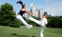 Groupon - Three or Eight 60- or 90-Minute Capoeira Classes from Cordao De Ouro Atlanta (Up to 88% Off) in Studio Dionne. Groupon deal price: $33