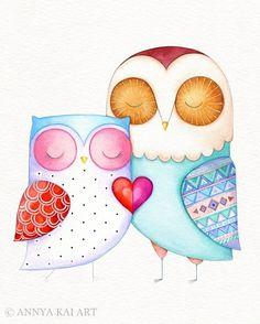 Owl Collection – Annya Kai