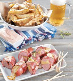 Σκέφτεστε καλύτερους μπιρομεζέδες από τα λουκάνικα και τις τηγανητές πατάτες…
