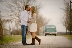 Outdoor engagement photos - Photos by Stephen Karlisch Outdoor Engagement Photos, Cloudy Day, Mr Mrs, Engagement Photography, Getting Married, Couple Photos, Image, Couple Shots, Couple Pics