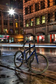 Rainy Bicycle