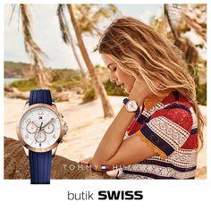 Nowa, wiosenna, przepiękna kolekcja zegarków Tommy Hilfiger zaraża pozytywną energią! Dostępna w butiku SWISS.