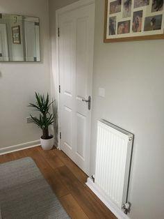 Living Room Color Schemes, Paint Colors For Living Room, Paint Colors For Home, Paint Colours, Colour Schemes, Room Colors, Living Room Decor Brown Couch, Living Room White, New Living Room