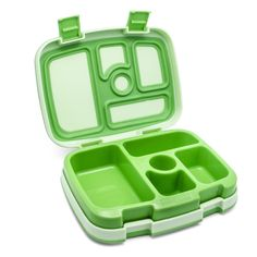 Nice kids bento. Removable insert for easy washing. Lots of compartments. No BPA, vinyl, lead, or PVC.
