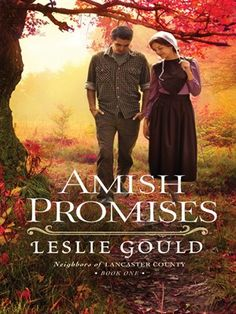 """Read """"Amish Promises (Neighbors of Lancaster County Book by Leslie Gould available from Rakuten Kobo. Journey Down a Quiet Lane in Lancaster County Where Love and Heartache and Friendship and Healing Meet When Joel and Sha. Good Books, Books To Read, My Books, Reading Books, Reading Lists, Amish Pie, Amish Books, Christian Fiction Books, Lancaster County"""