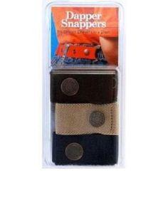 Amazon.com: Dapper Snapper Baby & Toddler Adjustable Belt- Boy's Colors: Black, Tan, and Navy: Baby