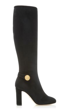 Stretch-Suede Boots by DOLCE & GABBANA Now Available on Moda Operandi