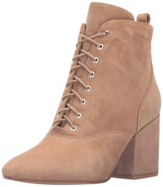 a67afc5b646fdc Sam Edelman Women s Tate Ankle Bootie  Chunky heel bootie with lace up  detail