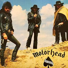Motorhead. Motorhead Ace Of Spades, Eddie Clarke, Briam, Hard Rock, Album Covers, Heavy Metal, Music, Amazon, Musica
