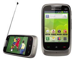 motorola smartphone with tv
