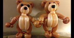 How to Make a Teddy Bear Balloon Animal   Balloon Animals, Teddy ...