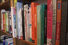 What's on our bookshelf? Photo by Simone Gutkin
