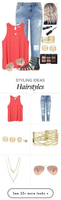 """""""Summer + Food Tag  Desc. """" by lizzybel-18 on Polyvore featuring Miss Selfridge, MANGO, Ray-Ban, LULUS, NARS Cosmetics and beldesigns16"""