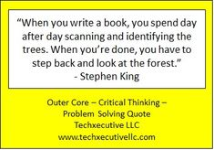 Critical Thinking Quotes, Outer Core, Writing A Book, Problem Solving, Coaching, Books, Write A Book, Training, Libros