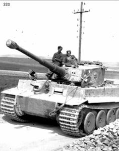Tiger I N° 333 from s.Pz.Abt 507