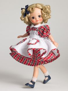"""betsy mccall 8"""" """"plaid party"""" ~ robert tonner"""
